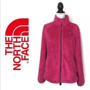 The North Face Furry Fleece Jacket Womens XL Pink